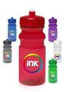 Custom 20 oz. Push Cap Bike Plastic Water Bottles