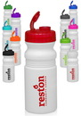 Custom 20 oz. Flip Top Plastic Bike Water Bottles