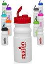 Custom 20 oz. Flip Top Plastic Bike Water Bottles