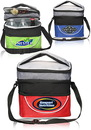 Custom 9W X 9 H Compartment Lunch Bags