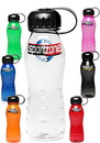 Blank 22 oz. Poly Bike Plastic Sports Bottles