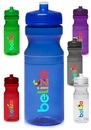 Blank Poly Clear 24 oz. Bike Water Bottles