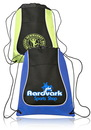 Custom 14W X 17H Two-Tone Drawstring Backpacks