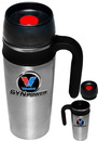 Custom 16 oz. Promotional Stainless Steel Travel Mugs