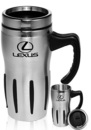 Custom 16 oz. Sporty Travel Mugs With Handles