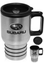 Blank 16 oz. Stainless Steel Travel Mugs With Handle