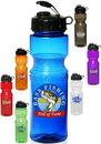 Custom 28 oz. Poly Bike Plastic Sports Bottles