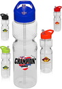 Custom 28 oz. Tritan Bike Plastic Sports Bottles