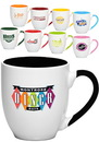Custom 16 oz. Miami Two-Tone Bistro Mugs