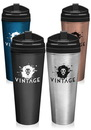 Custom 24 oz. Stainless Steel Travel Mugs Plastic Lid