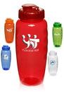 Blank 30 oz. Plastic Gripper Water Bottles