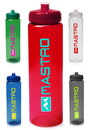 Custom 32 oz. Poly-Clear Plastic Water Bottles