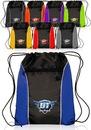 Custom 13W X 17H Color Drawstring Backpacks