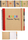 Blank 7.75 X 8 in. Recycled Square Notebook