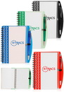 Blank 4.2 X 6.2 in. Deco Spiral Notebooks
