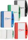 Blank 4.2 X 6.2 in. Deco Spiral Notebooks