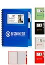Custom 5.5 X 7 in. Spiral Notebooks With Id Window