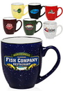 Custom 16 oz. Two Tone Speckled Bistro Mugs