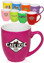 Custom 16 oz. Fluorescent Bistro Mugs
