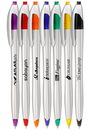 Blank Plastic Retractable Ballpoint Pens