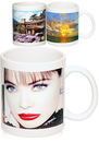 Custom 11 oz. Stoneware Photo Mugs