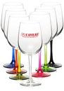 Custom 18.5 oz. Libbey Vina Tall Wine Glasses