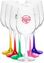 Custom 16 oz. Libbey Tall Wine Glasses