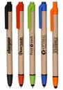 Blank Recycled Ballpoint Stylus Pens
