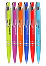 Custom Bright Colors Plastic Pens