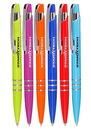Blank Bright Colors Plastic Pens