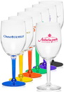 Custom 10 oz. Libbey Wine Goblet Glasses