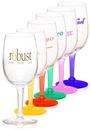 Custom 6.5 oz. Citation Wine Glasses