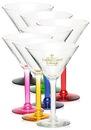 Custom 8.5 oz. Libbey Salud Grande Martini Glass