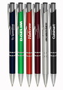 Blank Retractable Plastic Ballpoint Pens