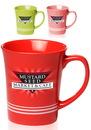 Custom 16 oz. Glossy Striped Mugs