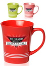 Blank 16 oz. Glossy Striped Mugs