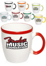 Custom 12 oz. Two Tone Festival Mug