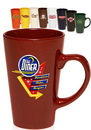 Blank 16 oz. Cafe Coffee Mugs