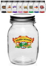 Blank 19 oz. Glass Canning Mason Jars