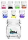 Blank 7 oz. Mini Mason Jar Sampler Glasses