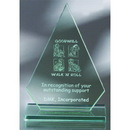 Custom GB409 The Alfa Jade Glass Awards, Jade Glass Conques 6 3/4