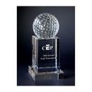 Custom GF7475 The Alfa Crystal Collection, Crystal Golf Tower Award 7 1/2