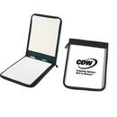 Custom KC1051 Semi-Clear Zippered Folder