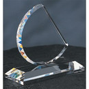 Custom PB0705 The Alfa Crystal Collection, Crystal Sail Award 4 3/4