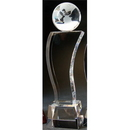 Custom S3351 The Alfa Crystal Collection, Crystal Globe Surf 2 3/4