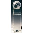 Custom S3803 The Alfa Crystal Collection, Crystal Globe Edifice 2 3/4