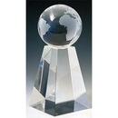 Custom S5312 The Alfa Crystal Collection, Crystal Spinning Globe 3 1/8