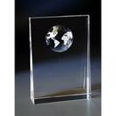 Custom SG2157 Alfa Crystal Globe Awards, Crystal Globe Wedge 5