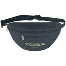 Custom SP1037 Poly Two Zipper Fanny Pack