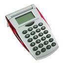 Custom Flip Top Silver Satin Calculator, 4